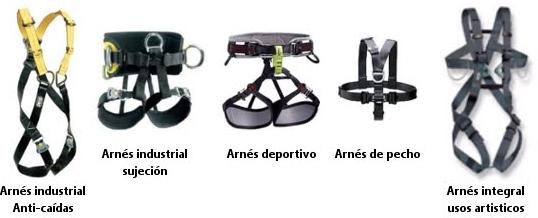 accesorios arnes